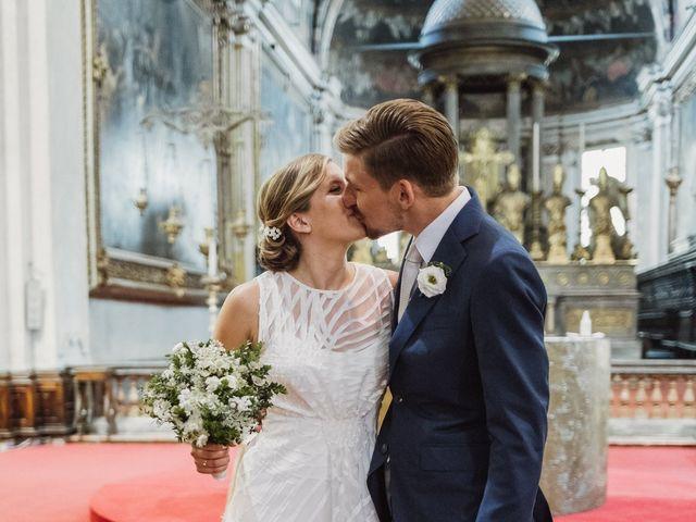 Il matrimonio di Gianluca e Clara a Orsenigo, Como 17