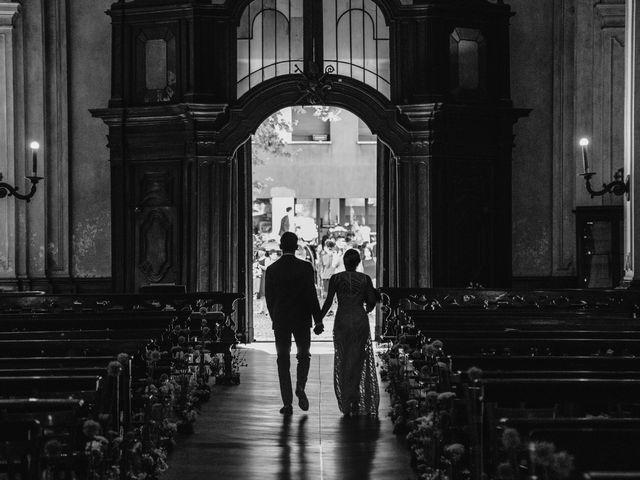 Il matrimonio di Gianluca e Clara a Orsenigo, Como 18