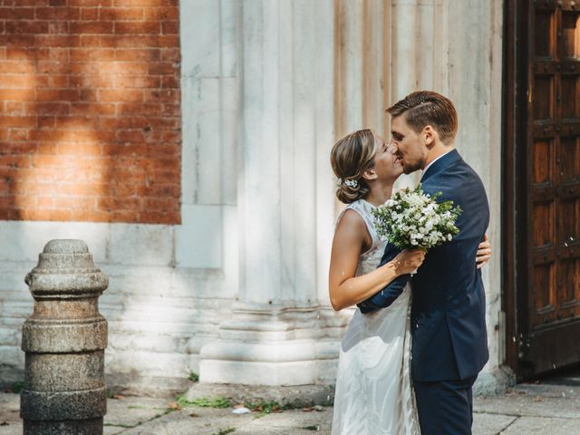 Il matrimonio di Gianluca e Clara a Orsenigo, Como 20