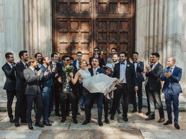 Il matrimonio di Gianluca e Clara a Orsenigo, Como 25