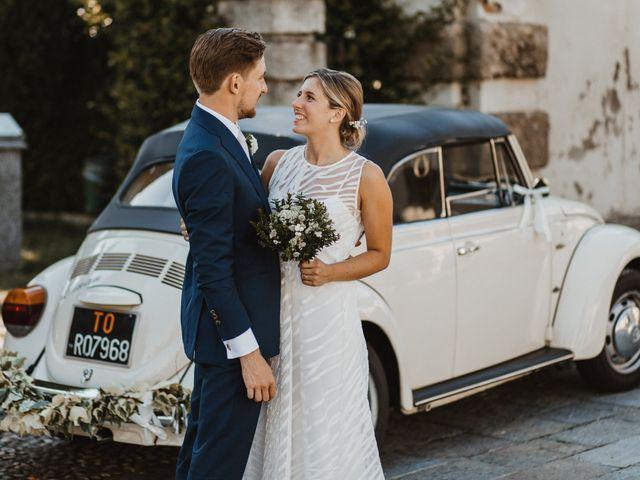 Il matrimonio di Gianluca e Clara a Orsenigo, Como 28