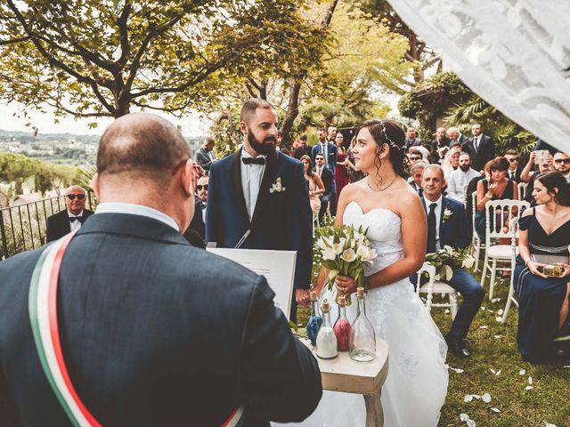 Il matrimonio di Iacopo e Sara a Grottaferrata, Roma 25