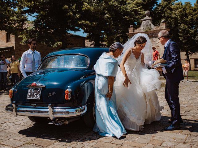 Il matrimonio di Valentina e Francesco a Fiastra, Macerata 55