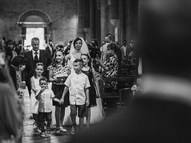 Il matrimonio di Valentina e Francesco a Fiastra, Macerata 62