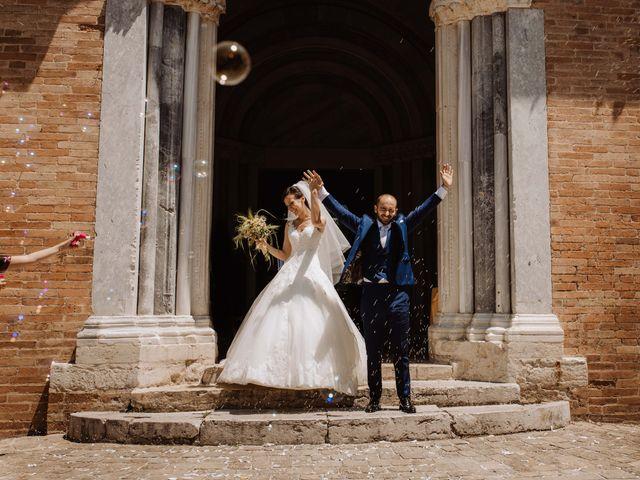 Il matrimonio di Valentina e Francesco a Fiastra, Macerata 92