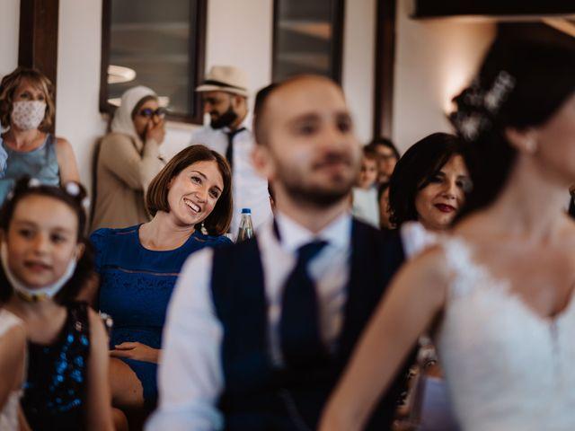 Il matrimonio di Valentina e Francesco a Fiastra, Macerata 121