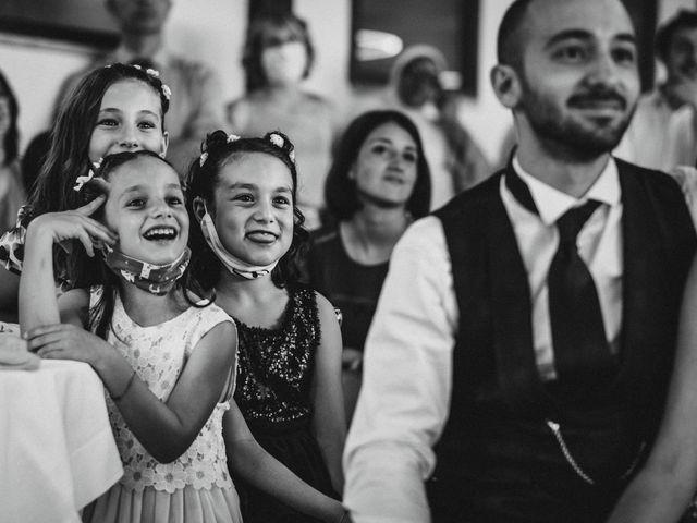 Il matrimonio di Valentina e Francesco a Fiastra, Macerata 122