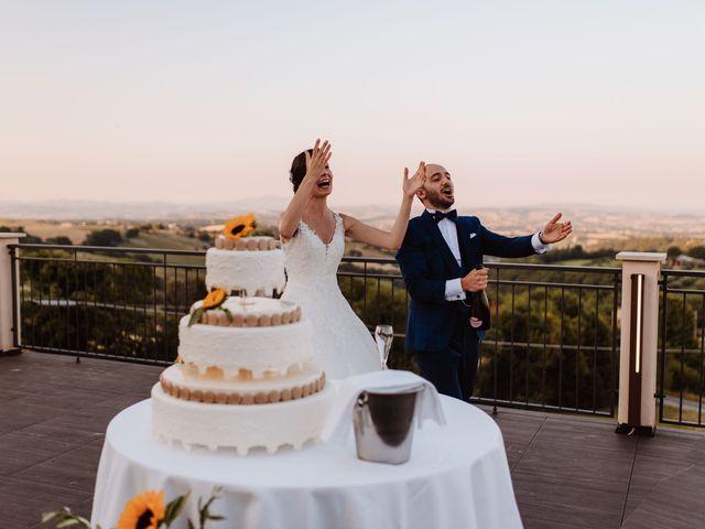 Il matrimonio di Valentina e Francesco a Fiastra, Macerata 128