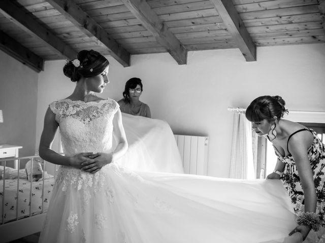 Il matrimonio di Pietro e Jessica a Vinzaglio, Novara 7