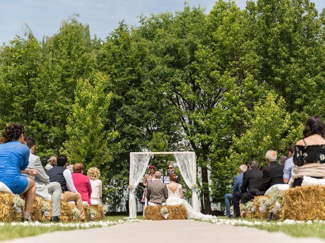 Il matrimonio di Pietro e Jessica a Vinzaglio, Novara 15