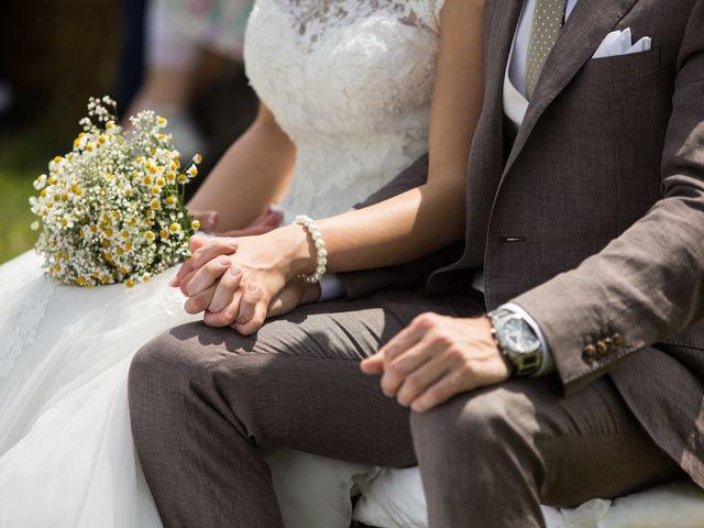 Il matrimonio di Pietro e Jessica a Vinzaglio, Novara 17