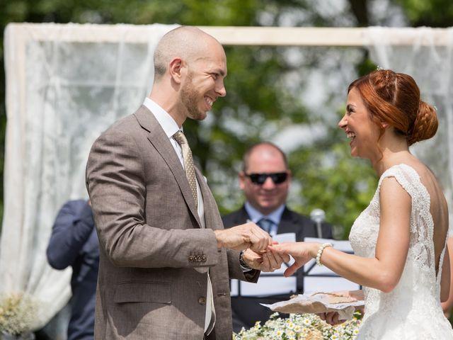 Il matrimonio di Pietro e Jessica a Vinzaglio, Novara 18