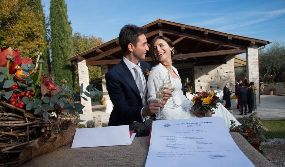 Il matrimonio di Daria e Gabriele a Soriano nel Cimino, Viterbo