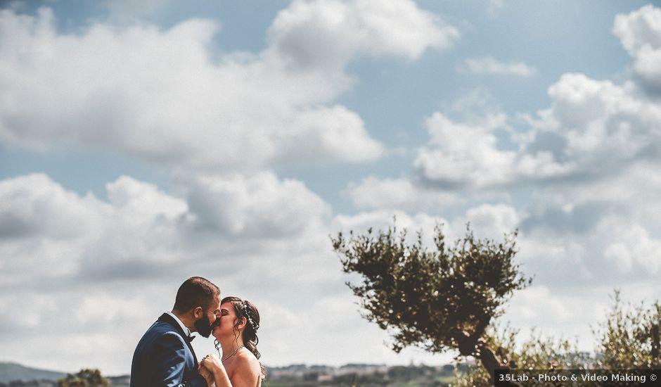 Il matrimonio di Iacopo e Sara a Grottaferrata, Roma