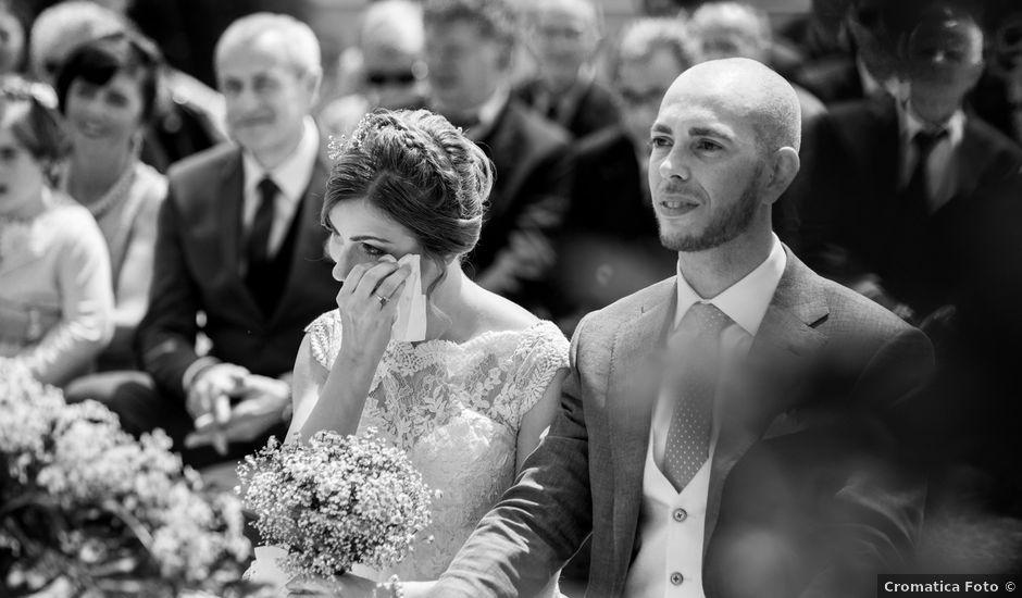 Il matrimonio di Pietro e Jessica a Vinzaglio, Novara