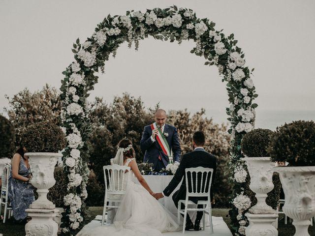 Il matrimonio di Matteo e Martina a Nettuno, Roma 19