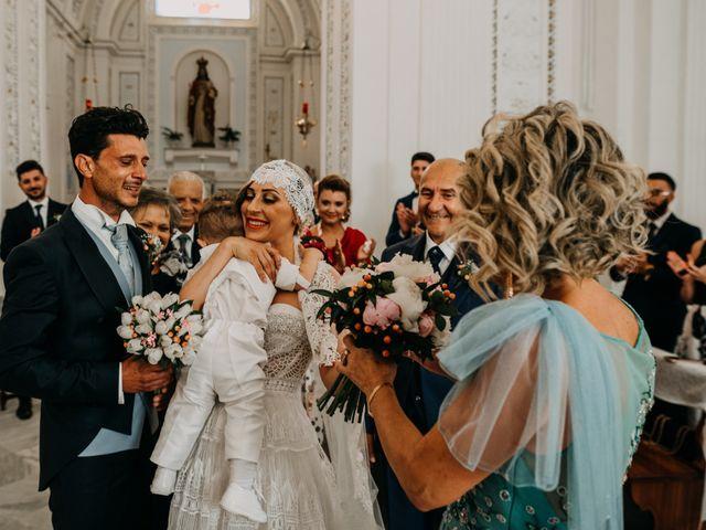 Il matrimonio di Giuseppe e Alba a Barrafranca, Enna 1