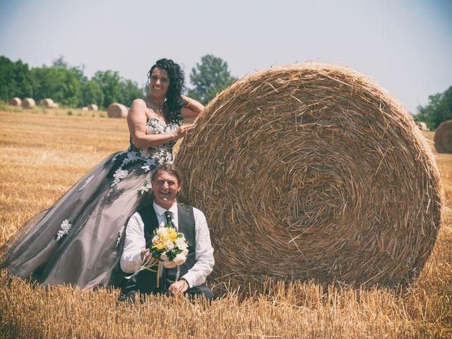 Le nozze di Carla e Oriano