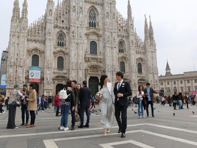 Il matrimonio di Dimitri e Micaela a Milano, Milano 18
