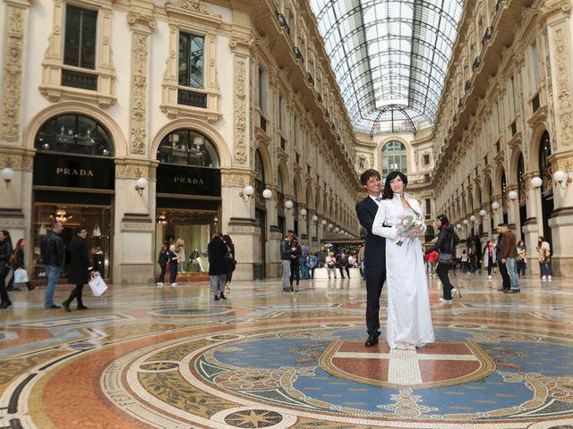 Il matrimonio di Dimitri e Micaela a Milano, Milano 22