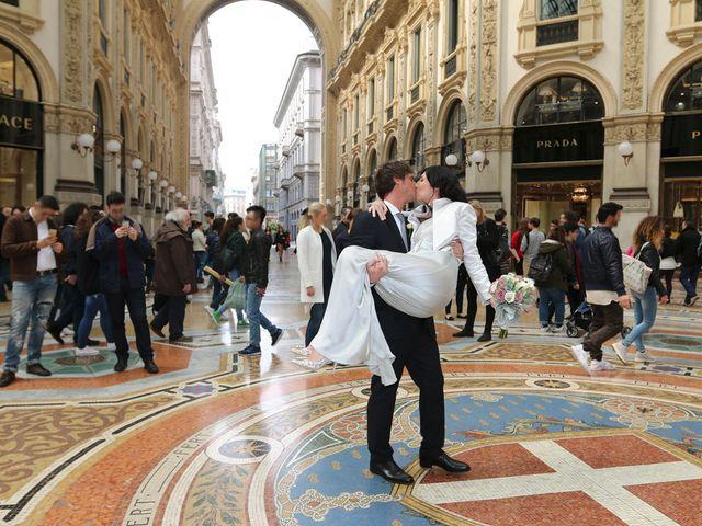 Il matrimonio di Dimitri e Micaela a Milano, Milano 24