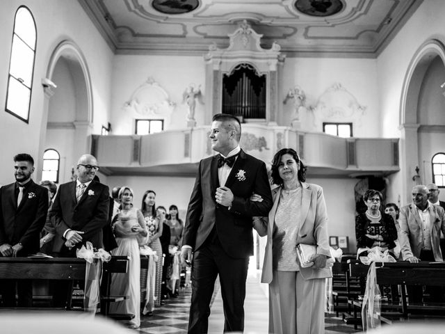 Il matrimonio di Simone e Martina a Vescovana, Padova 12