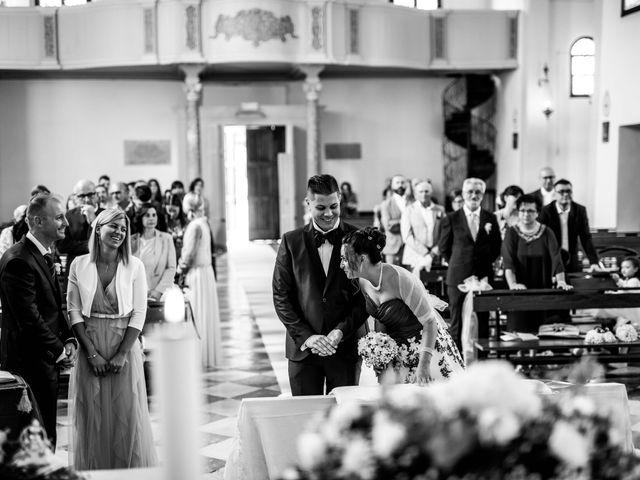 Il matrimonio di Simone e Martina a Vescovana, Padova 19