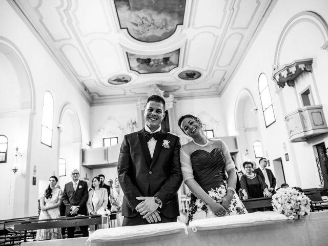 Il matrimonio di Simone e Martina a Vescovana, Padova 20