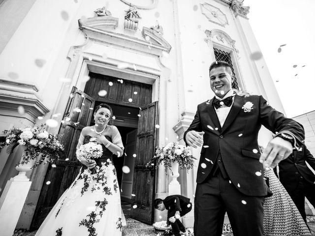 Il matrimonio di Simone e Martina a Vescovana, Padova 22