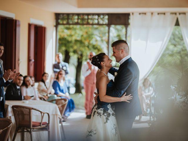 Il matrimonio di Simone e Martina a Vescovana, Padova 35