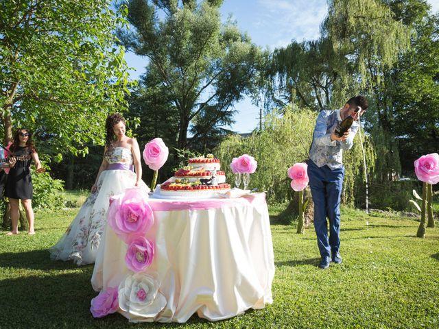 Il matrimonio di Emanuele e Cristina a Garlate, Lecco 45