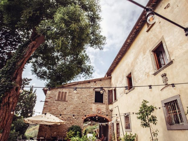 Il matrimonio di Patrick e Sophie a Greve in Chianti, Firenze 3