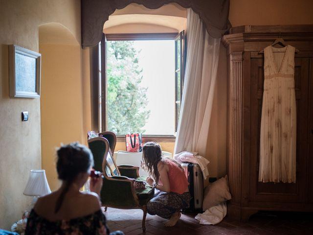 Il matrimonio di Patrick e Sophie a Greve in Chianti, Firenze 17