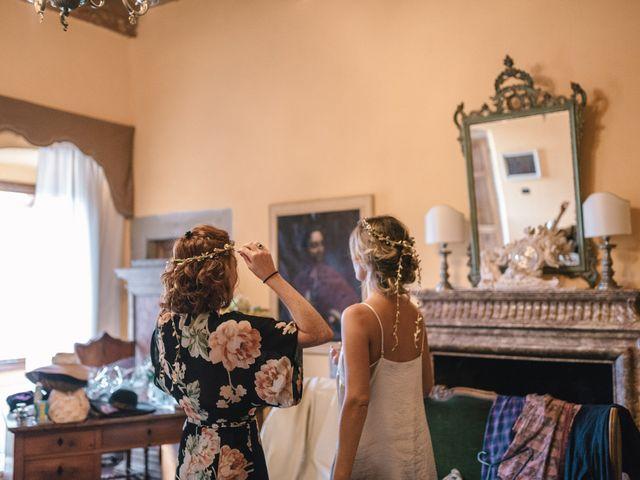 Il matrimonio di Patrick e Sophie a Greve in Chianti, Firenze 18