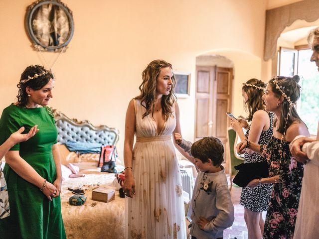 Il matrimonio di Patrick e Sophie a Greve in Chianti, Firenze 22
