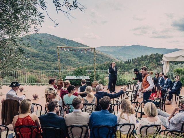 Il matrimonio di Patrick e Sophie a Greve in Chianti, Firenze 25