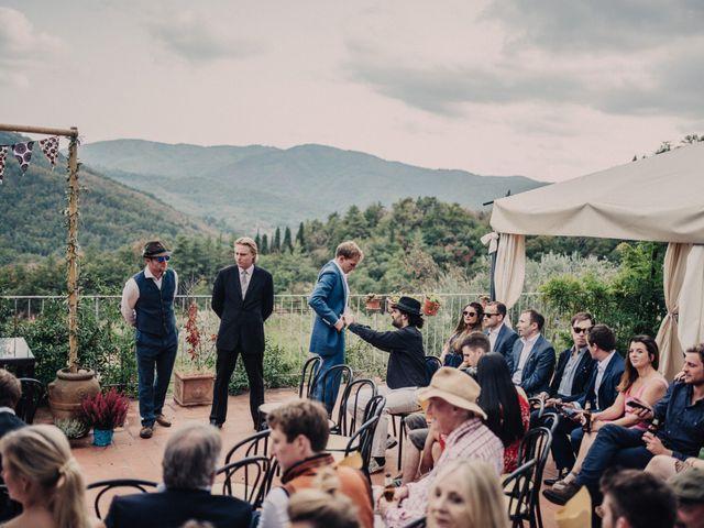 Il matrimonio di Patrick e Sophie a Greve in Chianti, Firenze 26