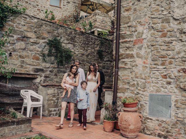 Il matrimonio di Patrick e Sophie a Greve in Chianti, Firenze 27