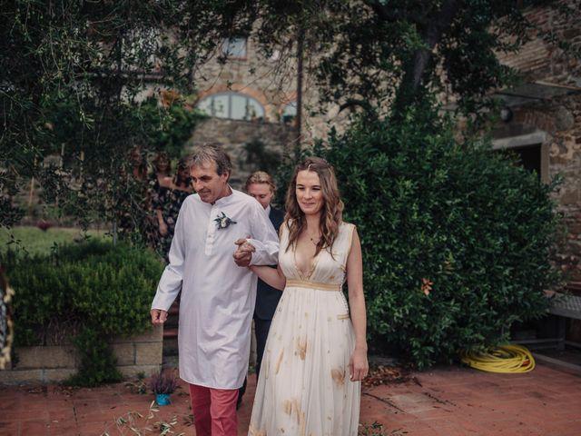 Il matrimonio di Patrick e Sophie a Greve in Chianti, Firenze 28
