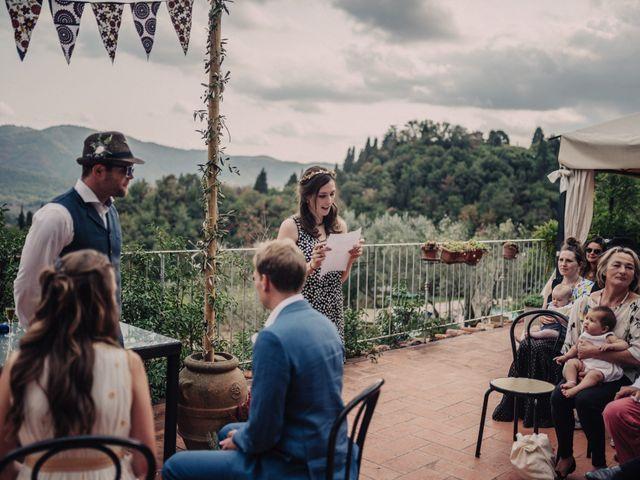 Il matrimonio di Patrick e Sophie a Greve in Chianti, Firenze 30