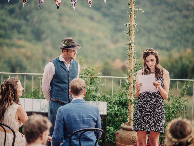 Il matrimonio di Patrick e Sophie a Greve in Chianti, Firenze 31
