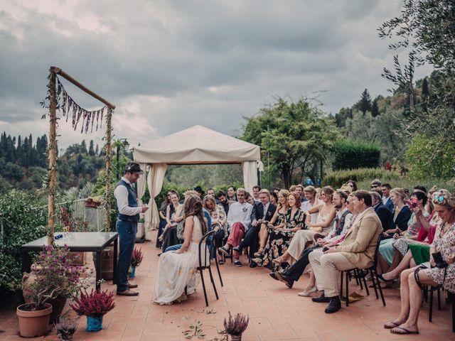 Il matrimonio di Patrick e Sophie a Greve in Chianti, Firenze 32
