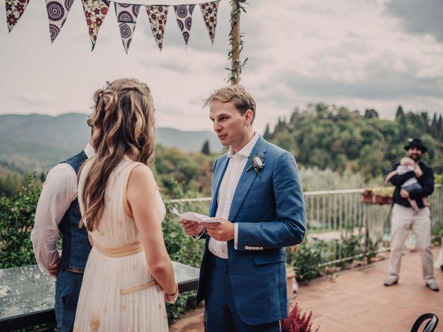 Il matrimonio di Patrick e Sophie a Greve in Chianti, Firenze 35