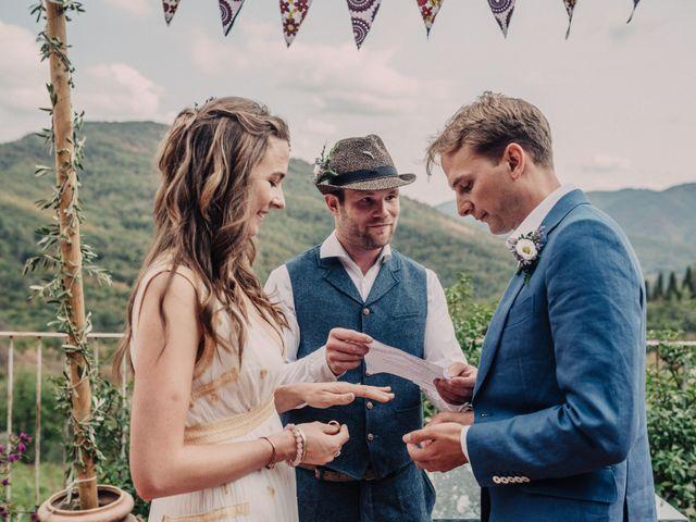 Il matrimonio di Patrick e Sophie a Greve in Chianti, Firenze 37