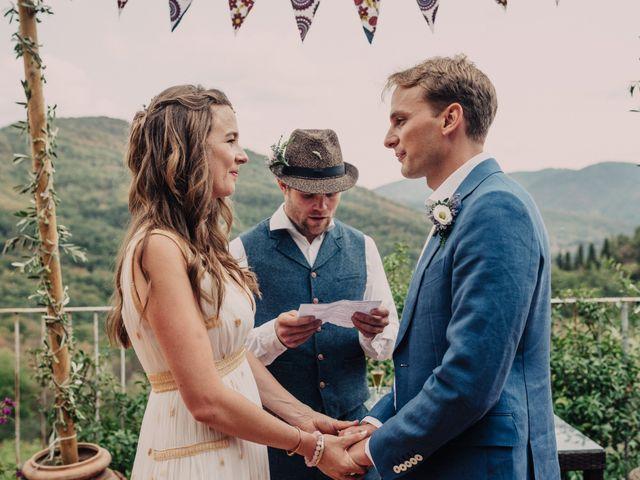 Il matrimonio di Patrick e Sophie a Greve in Chianti, Firenze 38