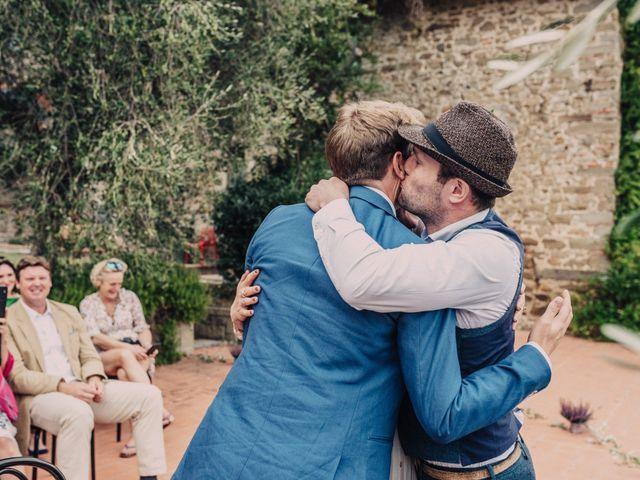 Il matrimonio di Patrick e Sophie a Greve in Chianti, Firenze 40