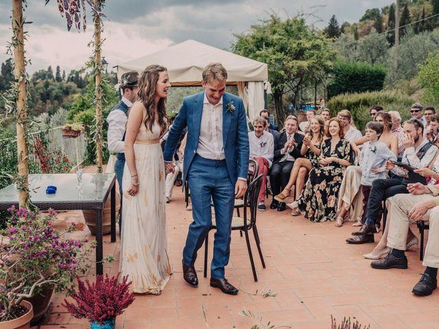 Il matrimonio di Patrick e Sophie a Greve in Chianti, Firenze 41