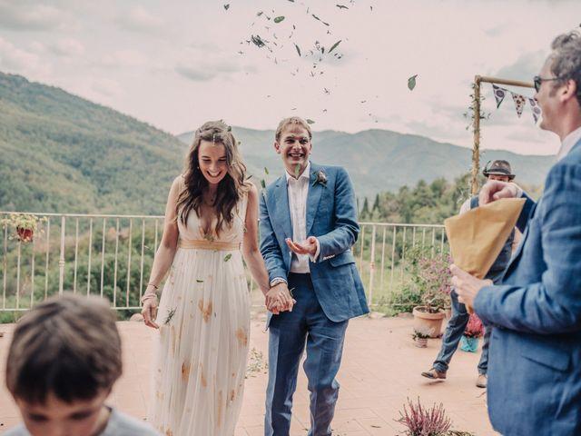 Il matrimonio di Patrick e Sophie a Greve in Chianti, Firenze 43