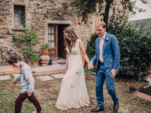 Il matrimonio di Patrick e Sophie a Greve in Chianti, Firenze 44