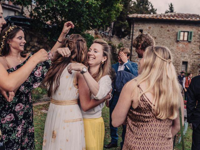 Il matrimonio di Patrick e Sophie a Greve in Chianti, Firenze 45